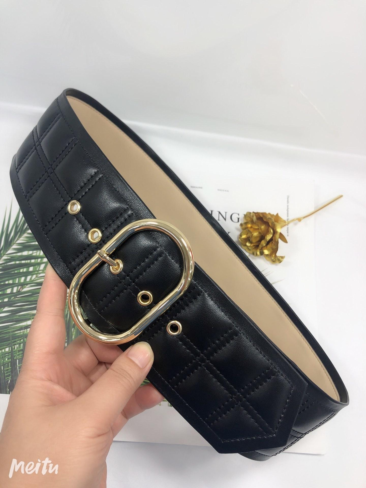 New buckle belt fashion belts for high quality women real leather