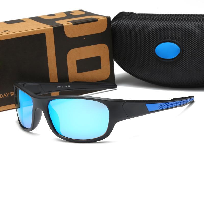 Popular Brand Designer Sunglasses Men and Women Sport Driving Glasses Designer Eyeglasses Fishing Sunshades Riding Glasses 5 Colors
