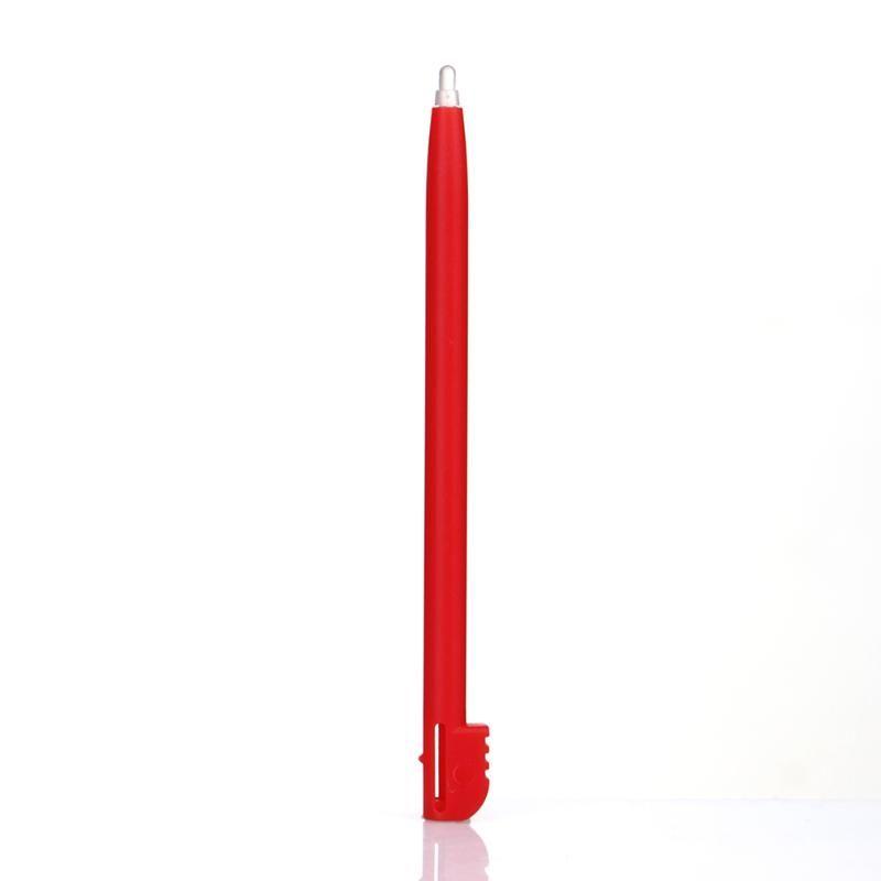 NDSL için Nintendo için 12 Renkler Plastik Dokunmatik Ekran Stylus Kalem