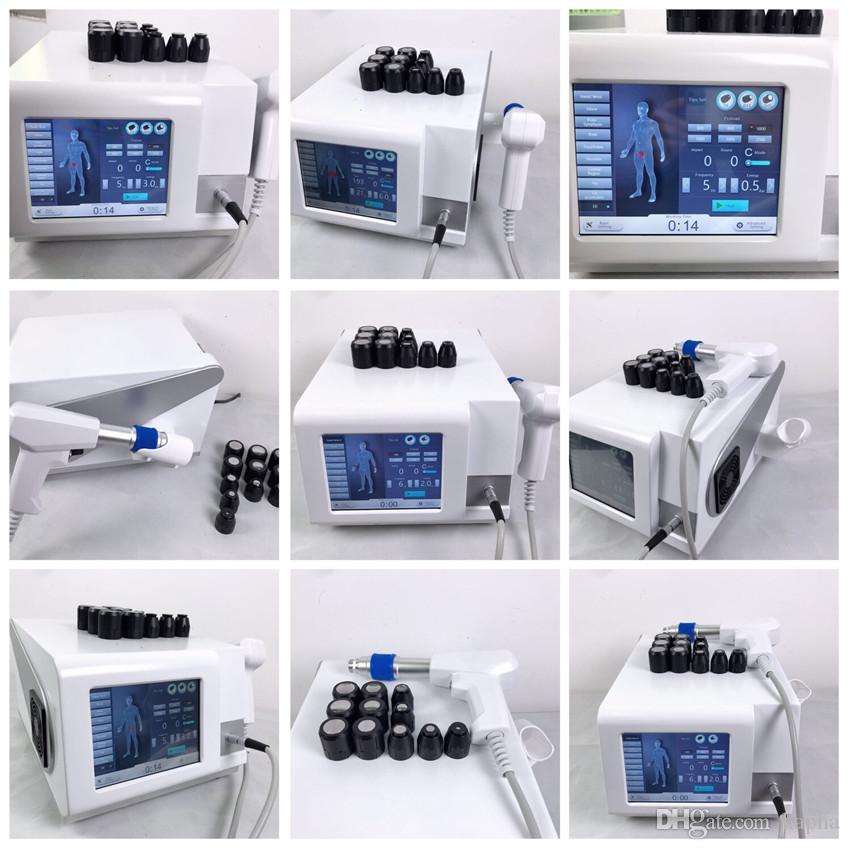 Equipo portátil de fisioterapia de ondas de choque para el tratamiento de ed / Presión de aire Terapia de ondas de choque para la reducción de la celulitis