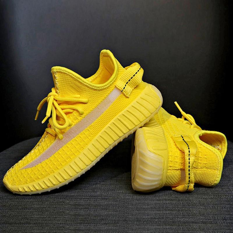 Sapatilhas das mulheres Respirável de fundo plano Casual Leve Malha Running Sports Shoes FK88