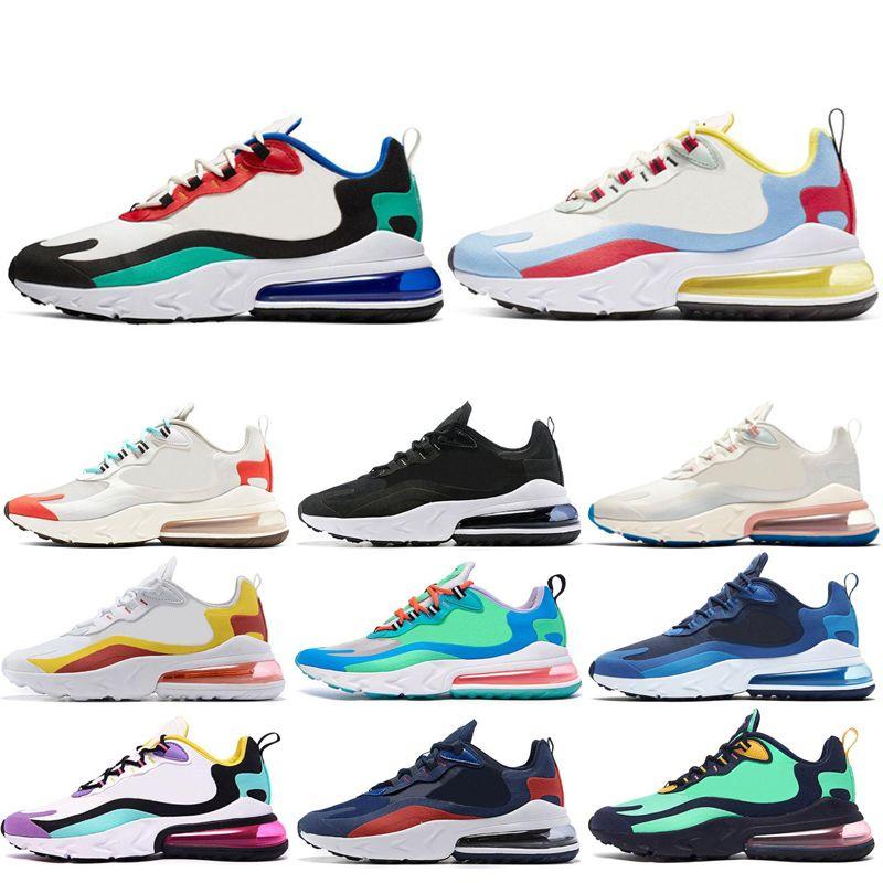 Nike air max 270 react Scarpa outdoor 2020 reagire per uomo donna Travis Scotts HYPER JADE Summit Scarpe da corsa bianche da uomo sneakers sportive scarpe da ginnastica di design