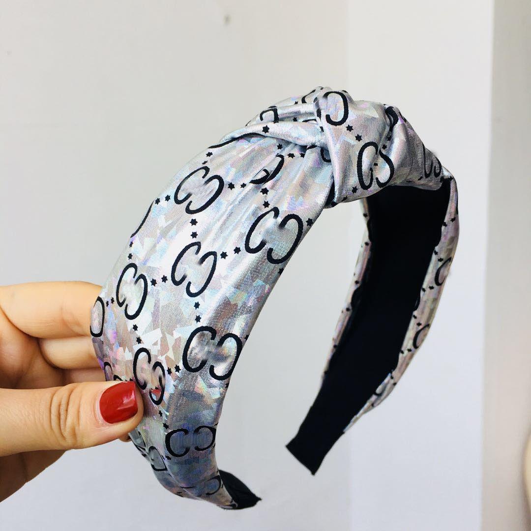 Women Letter Print Tie Hairband Hairpin Head Hoop Knot Hair Headband Fashion Ladies New Hair Accessories 5 Styles Headband