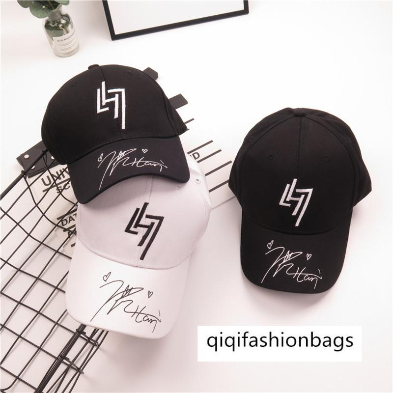 Luhan signature men's hip-hop sports sun hat leisure baseball cap