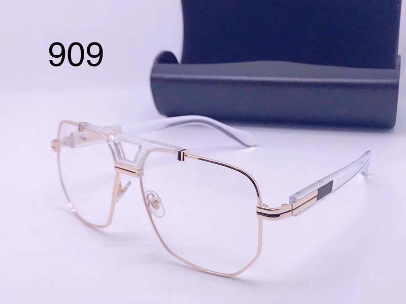 Il nuovo modo di disegno 909 retro occhiali da sole occhio protezione del telaio popolare epoca UV400 lente di alta qualità in stile classico 0015