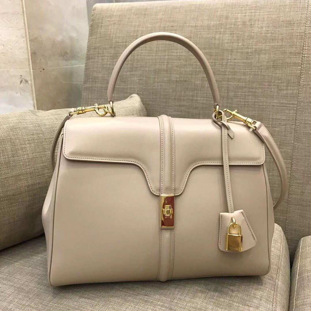 Bayan için Çanta Çanta üst Kalite hakiki deri toplayıcı 2019 Tasarımcı marka Yeni Moda 16 torba çanta Kadınlar Messenger Çanta bağbozumu üst kolu