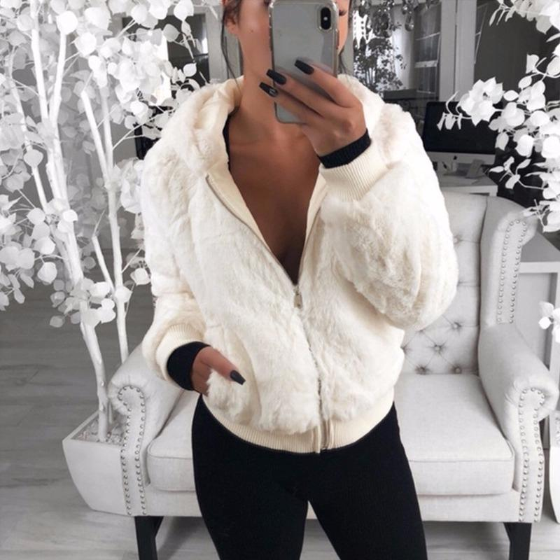 Casaco fashion Básico Bamber Casacos chaqueta Mujer Jaquetas Mulheres Casua Casacas Para Mujer Inverno Casaco de couro falso Mulheres