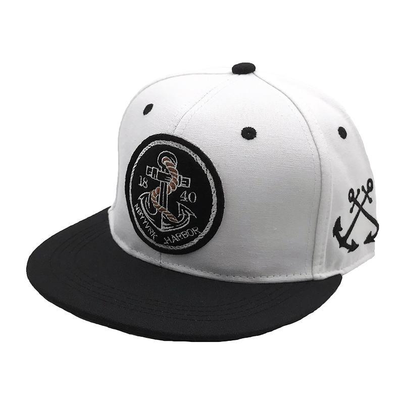 2019 якорь патч кости snapback 1840 Нью-Йорк Харбор хип-хоп бейсболка мода casquette регулируемая шляпа gorras для женщин мужчин