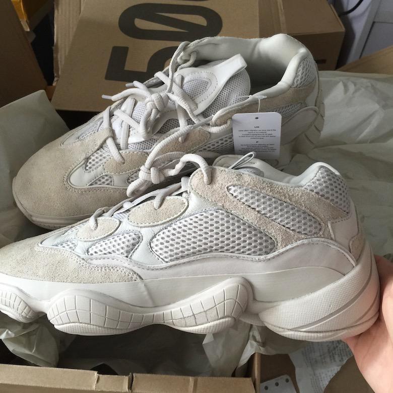 2018 Neue 500 Blush Desert Rat Kanye West Runner 500 Sneakers Schwarz Herrenschuhe Designer-Schuhe athletische Turnschuh