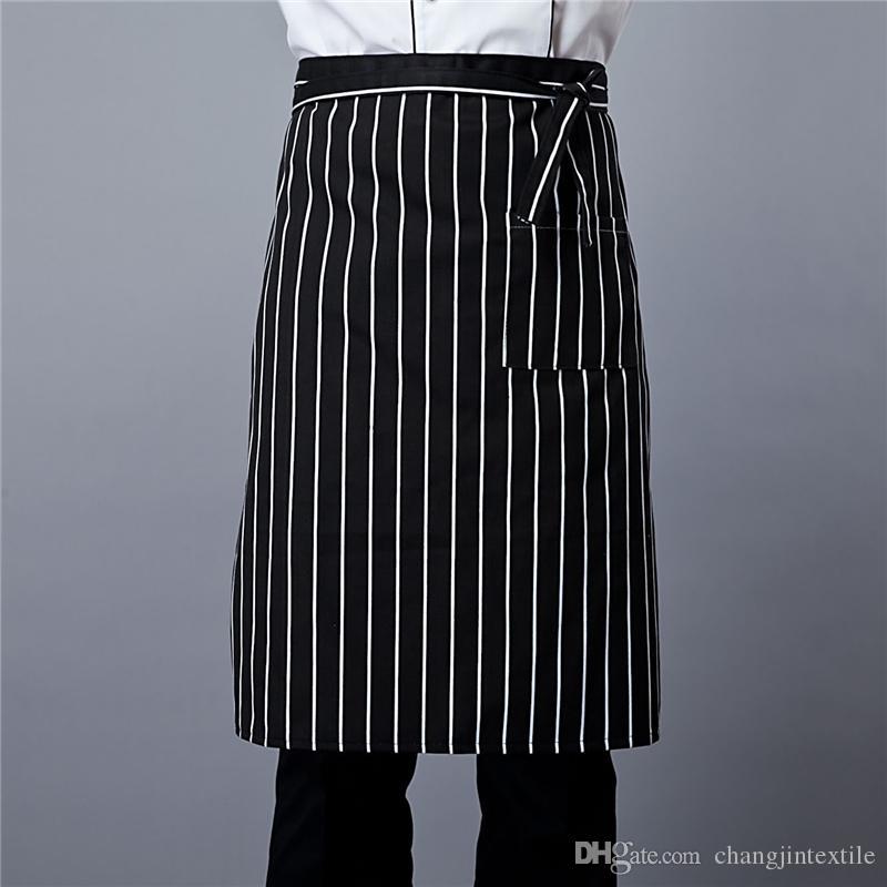Chef Hälfte Schürze Öl und Vermeidung von Umweltverschmutzung Restaurant Hotelküche Arbeitskleidung Schürze benutzerdefinierten