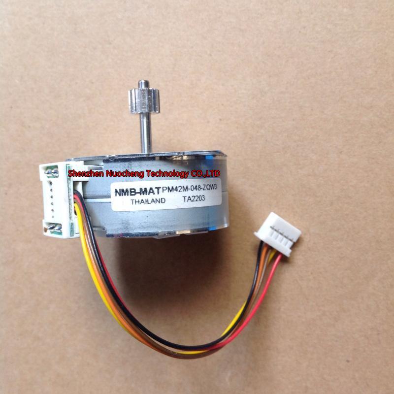 아주 새로운 4 단계 5 철사 42mm 족답 모터 PM42M-048 의 14teeth 장치를 가진 족답 각 7.5~