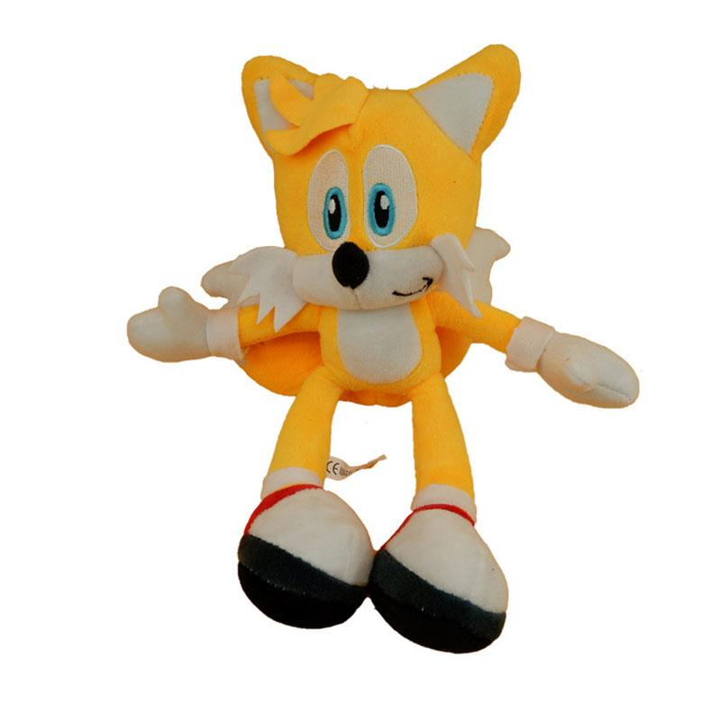 Anime Super Sonic Plush Toys The Hedgehog Tails Ultimate Flash Fox Plush Toys 26cm Cute Stuffed Animals Anime Doll Soft Toysmx190925 Girl With A Doll Boy Doll Clothes For 18 Inch Dolls