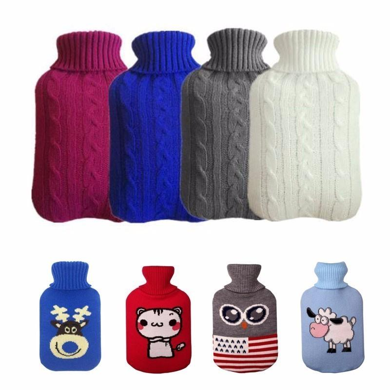 Drop Ships String Hot Water Bottle Bag Cover For 2000 Ml Hot Water Bottle Hot Water Bags Anti -burning Bags Cover Heating Hand Heater