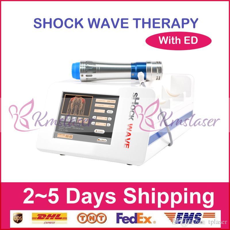 máquina de ondas de choque físico para la terapia física dolor de espalda alivio treatment./Extracorporeal para tratamiento de disfunción eréctil