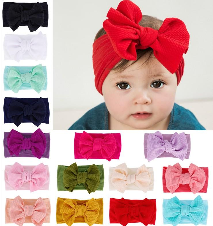 DEEP PINK JERSEY HEADWRAP WRAP HEADBAND KNOT BOW BABY TODDLER GIRLS NEW