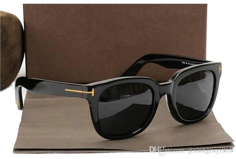 New top big qualtiy nouvelle mode 211 Tom lunettes de soleil pour homme femme Erika Eyewear ford Designer lunettes de soleil avec cellule d'origine
