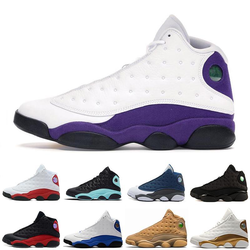 Mayor grande 13s descuento en Isla Verde Lakers para hombre de los zapatos de baloncesto GS Hyper 3M zapatillas de deporte los deportes de las mujeres los zapatos del envío libre que funciona