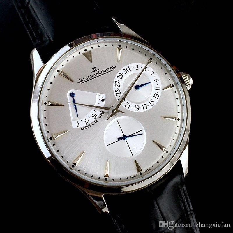 montre-bracelet de marque hommes de montres de luxe maître de luxe Cloen Montre bracelet en caoutchouc automatique design sport Reloj de Lujo