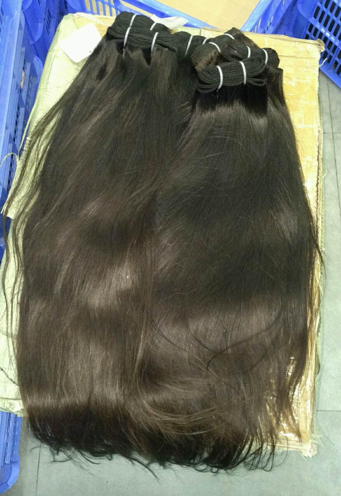سميكة مزدوجة مرسومة الشعر الفيتنامية الخام الخام 100٪ بشرة محاذاة الشعر 10a عالية الجودة 3 حزم واحد المانح