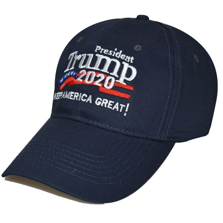 Heiße Männer Frauen Camouflage Baseball-Mütze Visier Trump 2020 Maga Camo gestickter Hut Halten Make America Great Again Cap Us Stock # 325