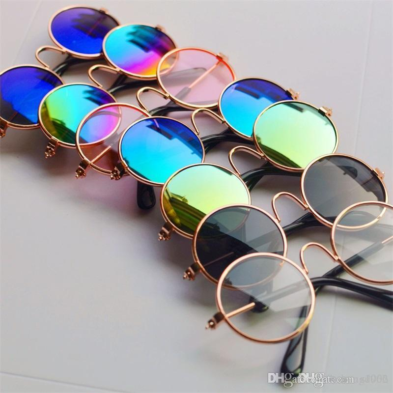 Dog Cat Kitty Glasses Originality Toys Protection Puppy Cool Sunglasses Doll Puppet Sunglasses Props Pet Supplies 2 85yy bb