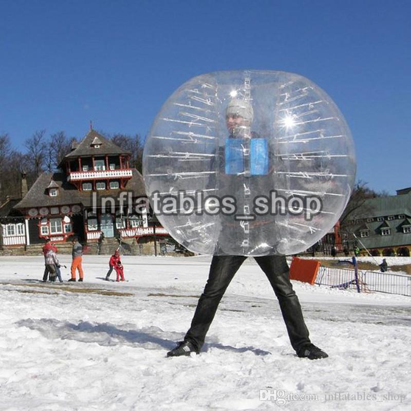 Kabarcık Futbol, Zorb, Şişme Tampon Topu, Kabarcık Topu Takım, Satılık Kabarcık, Çocuklar Için Loopy Top PVC 1.7 M Genç