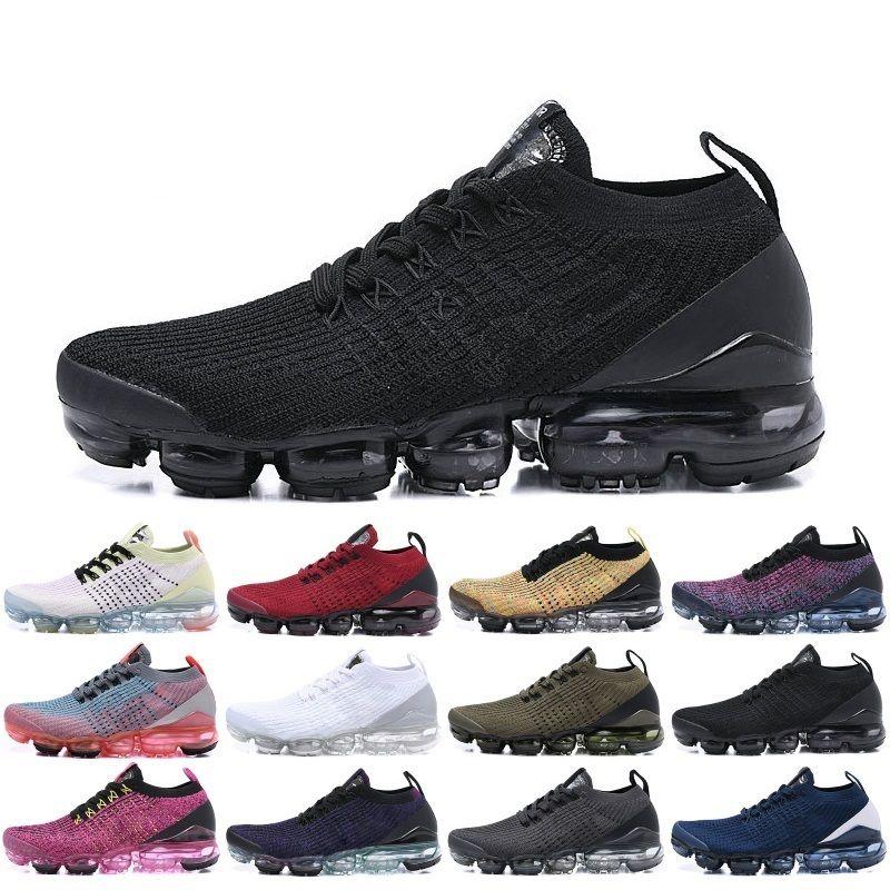 Nike Air Max Vapormax Nouveautés 2.0 Femmes Hommes Chaussures Triple noir blanc rouge formateurs Chaussures de sport Designer Sneakers Chaussures De Course Nous Taille 5.5-11
