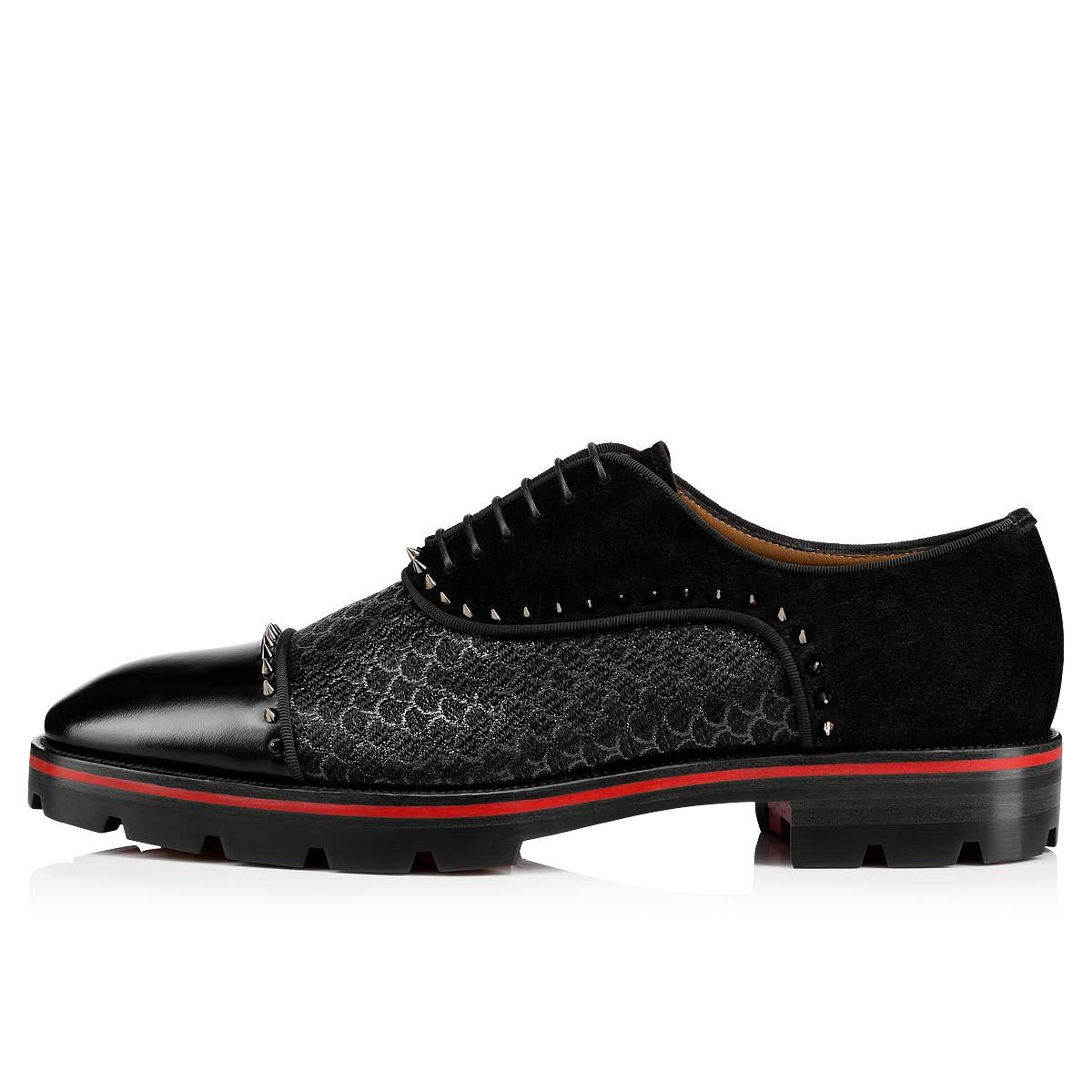 Leisure Gentleman Leather Flats Shoes Red Bottom Oxfords Loafers Luxurious Moccasin Tire Rubber Soles Genuine Leather With Buckle Super Shoe