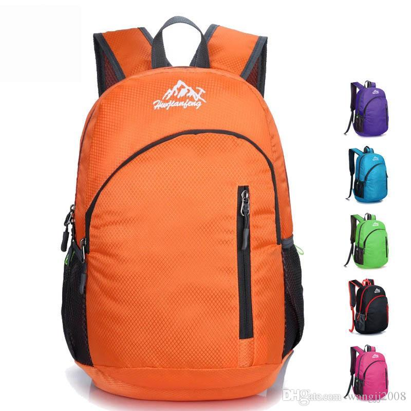 Folding Backpack waterproof travel backpack Laptop Rucksack for male women Outdoor large shopping travel Multifunctional Backpack new