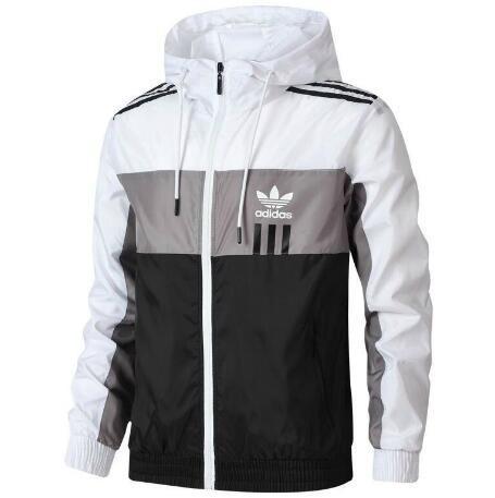Vestes pour hommes printemps avec 3 Stripes hommes coupe-vent Manteaux Zippered extérieur Veste d'hiver marque de mode Veste Hommes Tops en gros