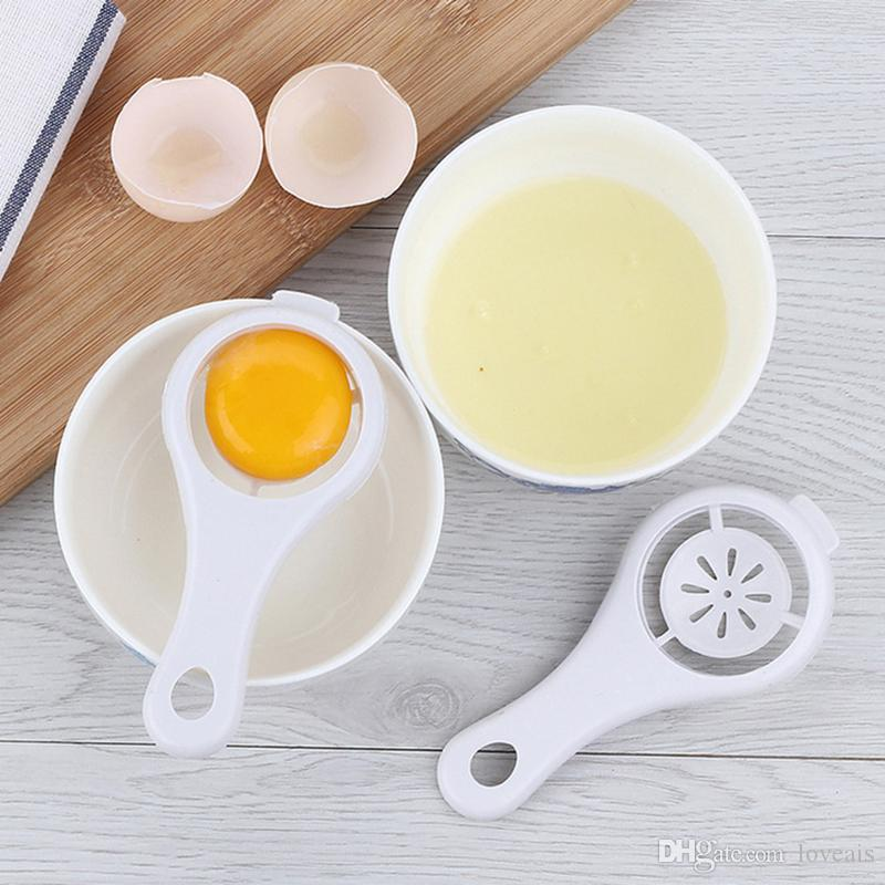 Kitchen Accessories Egg Yolk Separator Food-grade Egg Divider Protein Separation White Yolk Sifting Egg Cooking Gadget