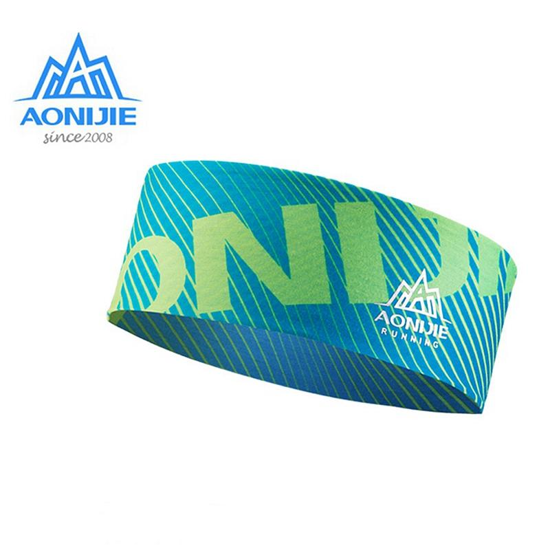 AONIJIE Gym Headband Multifunction Scarf Sports Breathable Headwear Yoga Sweatband For Outdoor Camping Hiking Cycling E4901