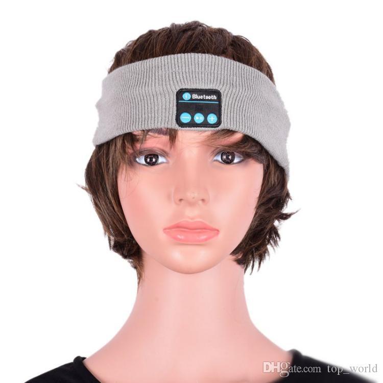 Z3 무선 블루투스 이어폰 수면 음악 머리띠 모자 소프트 따뜻한 스포츠 마이크 핸드폰을 사용하여 스마트 폰을위한 핸드폰