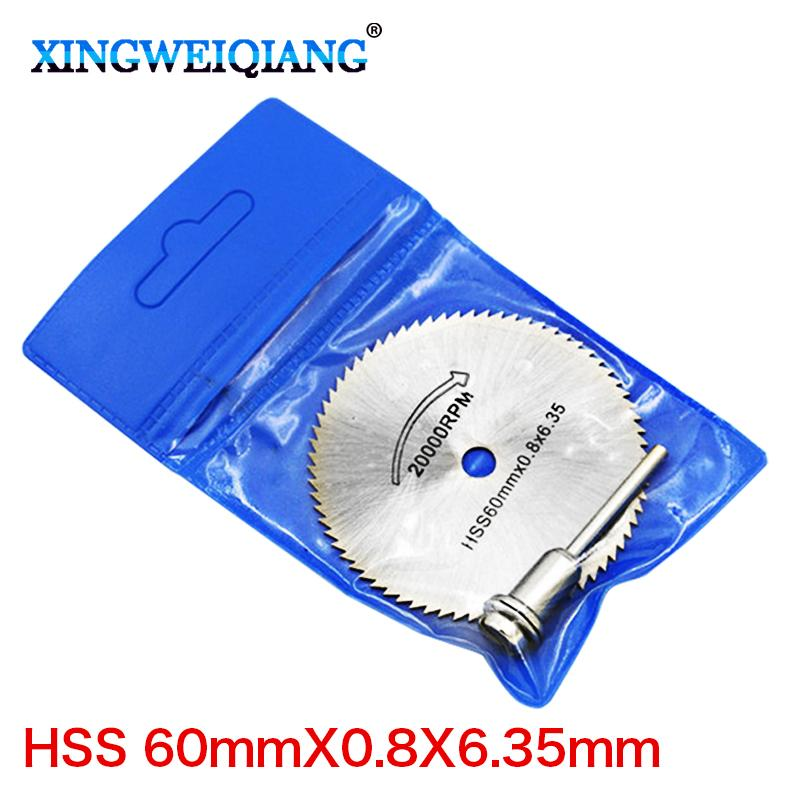 Saw Blades 22mm-60mm 6.35 metal cutting disc dremel rotary tool circular saw blade dremel cutting tools for woodworking tool cut off