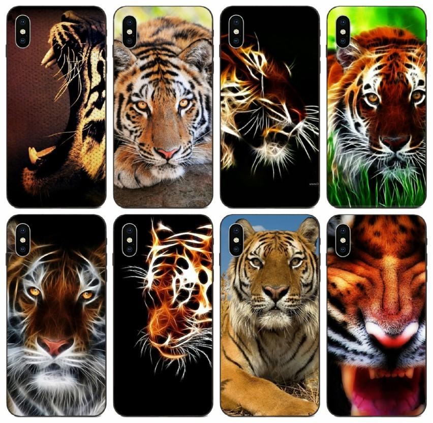 Tongtrade Comics Manga Caricature Tiger Wallpaper Novelty Fundas Case For Iphone 11 Pro X Xs Max 8s 7s 6s 5s Plus Galaxy J7 Xiaomi 10 Case Customized Phone Cases Cute Phone Cases