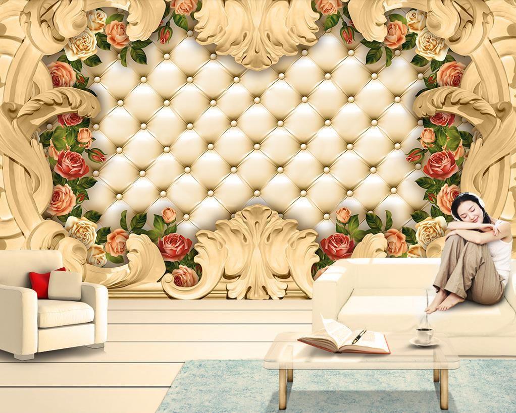 3D обои на заказ европейская мягкая сумка картина обои для гостиной спальня стены росписи фон стены настенные бумаги домашнего декора