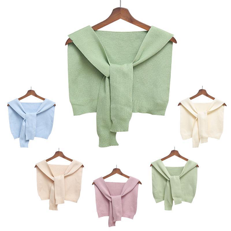 Çocuklar Moda Küçük Şal Giysileri Bebek Pamuk Katı Renk Cape Kış Giysileri Çocuk Sonbahar Kış Ceket Şal Eşarp TTA1774