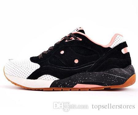 Acheter Chaussures De Mode Premier X Saucony Shadow 6000 Chaussures Casual Hommes Femmes Marque Designer Mars Gris Foncé Orange X Feature G9 Taille
