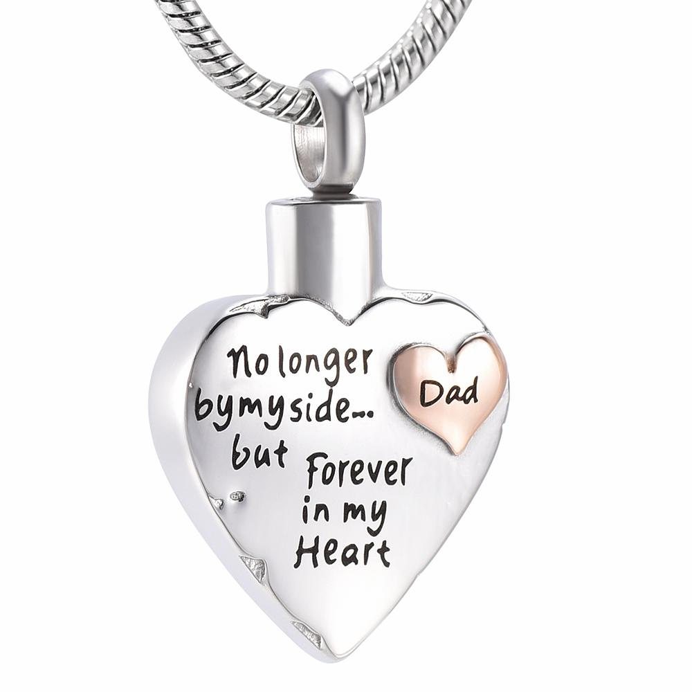 Wholesale Personalized Cremation Jewelry Dad In My Heart Memorial Pendant Ashes Urn Necklace For Human Adult Ashes Houlder Keepsake Funeral Urns Aquamarine Pendant Necklace Heart Pendants Necklaces From Dgxxwj5566 24 13 Dhgate Com