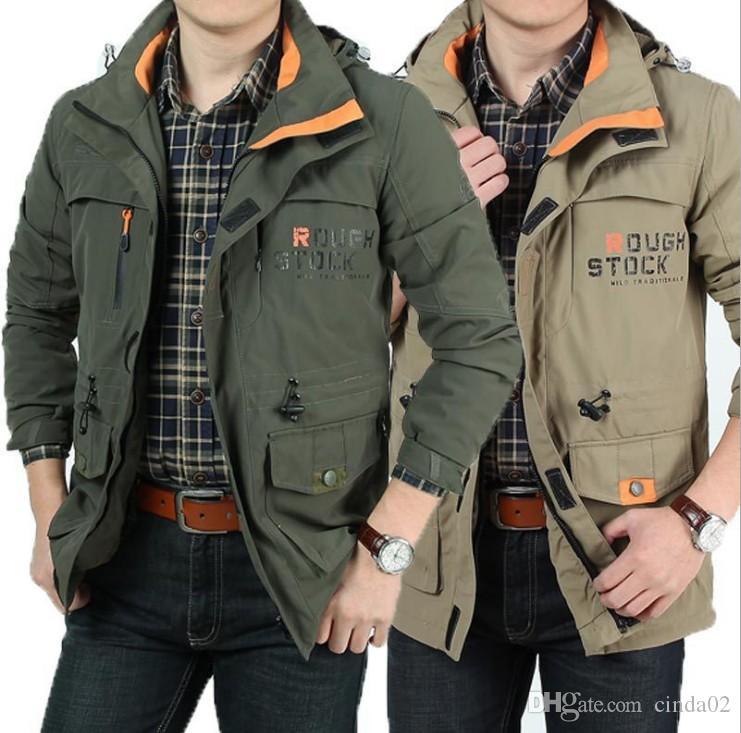 New Softshell Jacket Men asciugatura impermeabile cappotto rapidamente esterna Solid traspirante Windbreaker per gli uomini d'escursione di campeggio