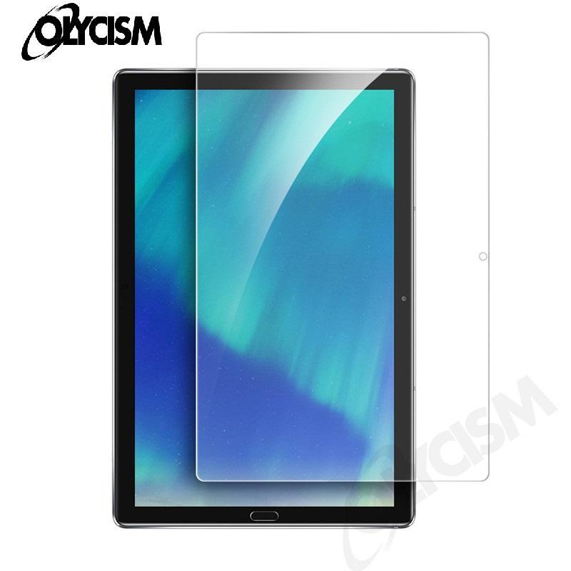 الجملة لهواوي Mediapad T5 10.0 حامي الشاشة 9H 2.5D واضح اللوحي فيلم واقية ل MediaPad C5 8.0 الزجاج المقسى