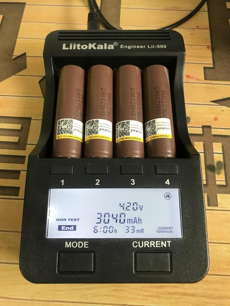 HG2 3.7 V LIITOKALA LII-HG2 18650 18650 3000 mAh Sigaretta elettronica Sigaretta Ricaricabile A POTENZA A POTENZA ALTA SCARICA, 30A Corrente grande