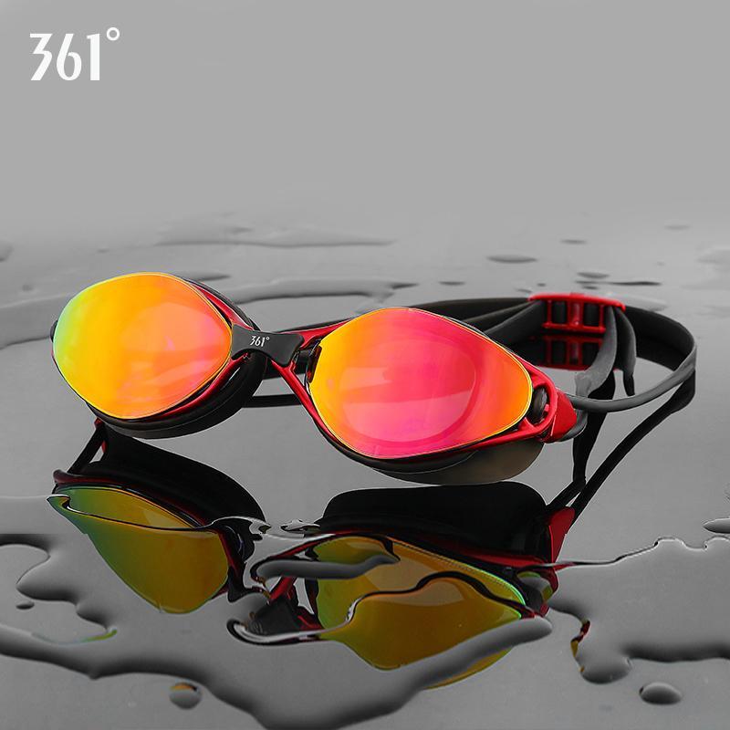 361 мужской бассейн Goggle для взрослых плавание Hd противотуманные очки силиконовые водонепроницаемые очки женщины плавать очки C19041201