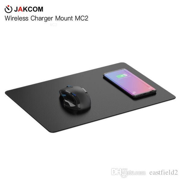 JAKCOM MC2 Wireless Mouse Pad Caricatore Vendita calda in tappetini per mouse Poggiapolsi come 2019 trend in pelle di sughero