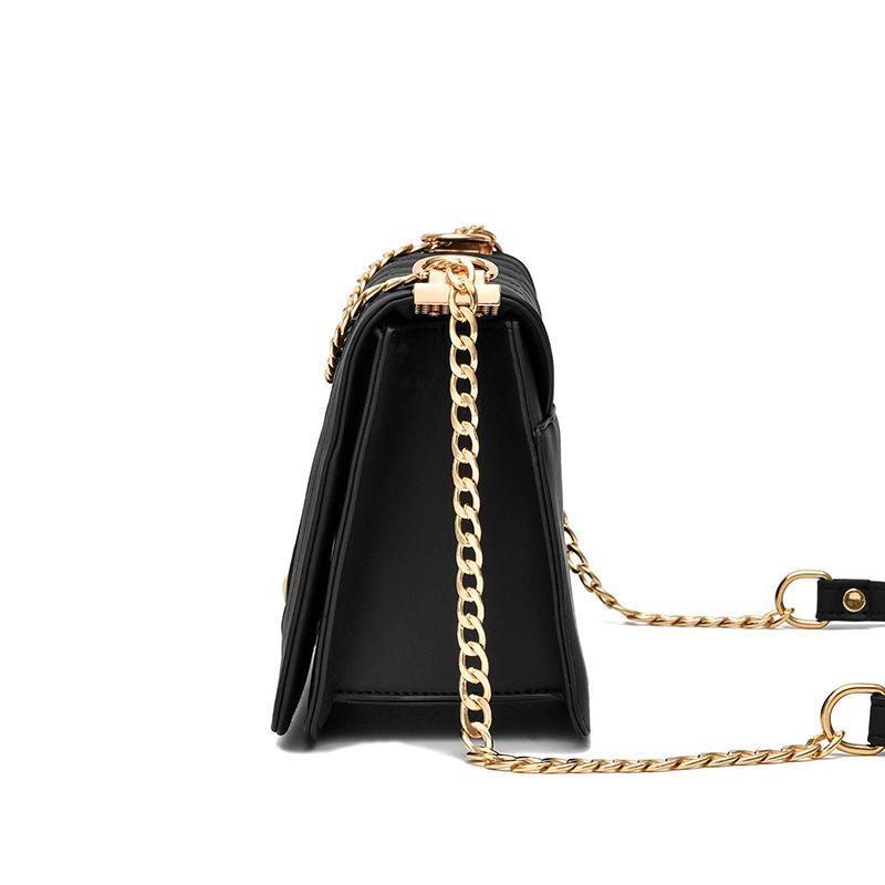 Novo designer famoso design de moda coreano das pequenas bolsas de couro macio perfumadas cadeia de bolsa crossbody