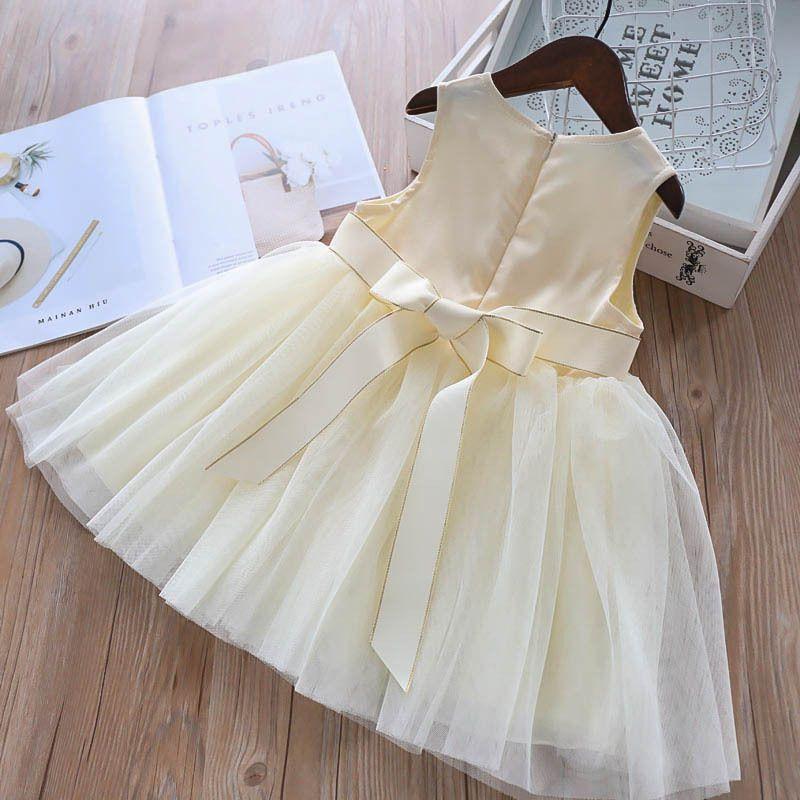 Hot Pretty Newborn Baby Girl Reindeer Princess Dress Party Costume Floral Dress