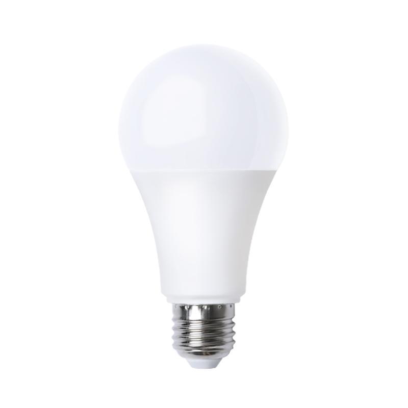 E27 بقيادة شكل مصباح غطاء بلاستيكي الألومنيوم 270 درجة غلوب لمبة ضوء 5W / 7W / 9W / 12W / 15W / 18W الأبيض الدافئ / بارد أبيض