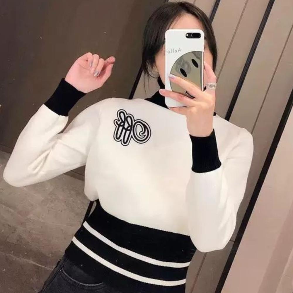 Womens Sweater Moda Sweater Casual Tamanho S-L Quente Confortável WSJ000 # 111829 lucky04