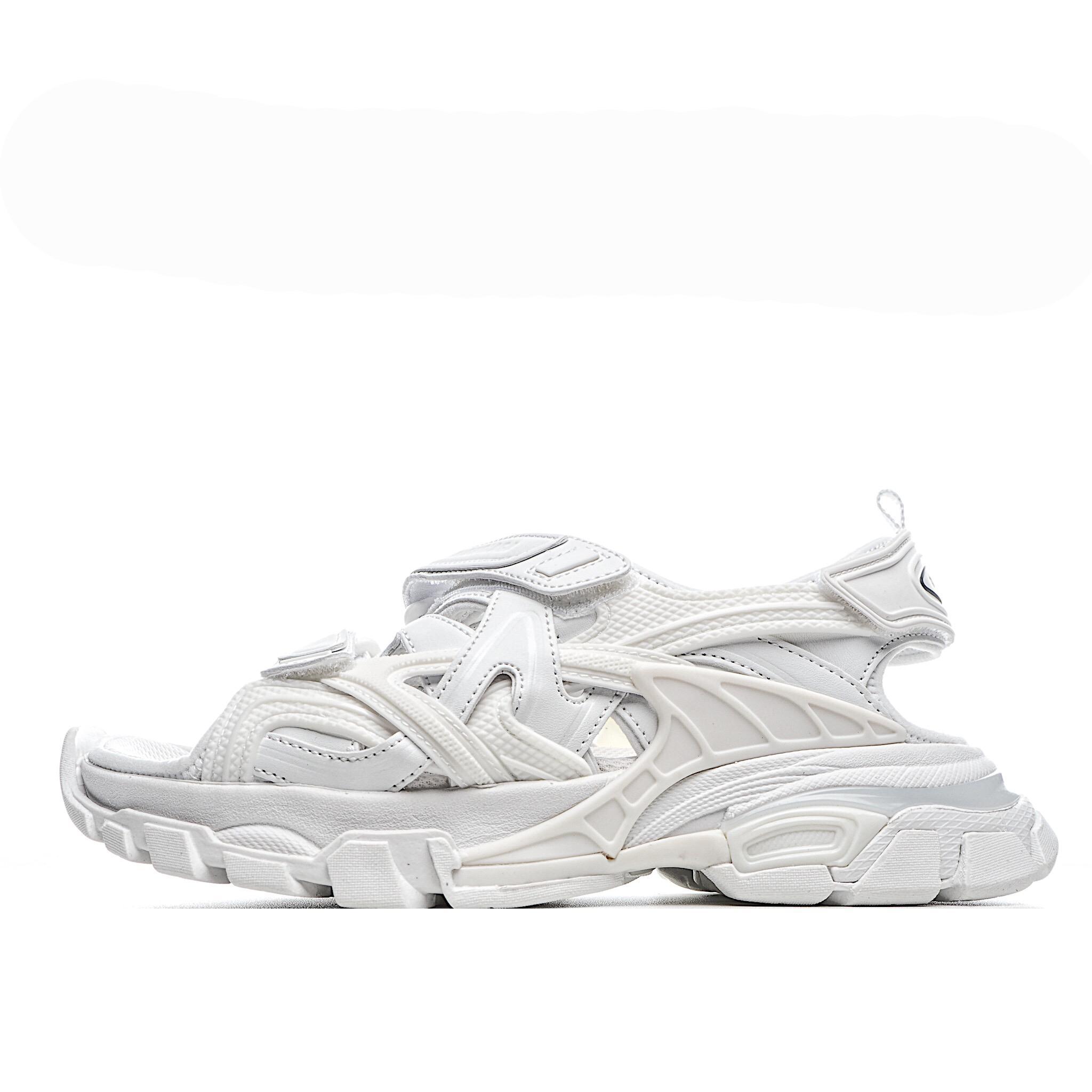 kadın ve erkek tabanlık örgü için 2020 Retro Toka Platformu 4 Nesil Track2 Baba Sandalet Kadın ayakkabı bahar ve yaz yeni stiller