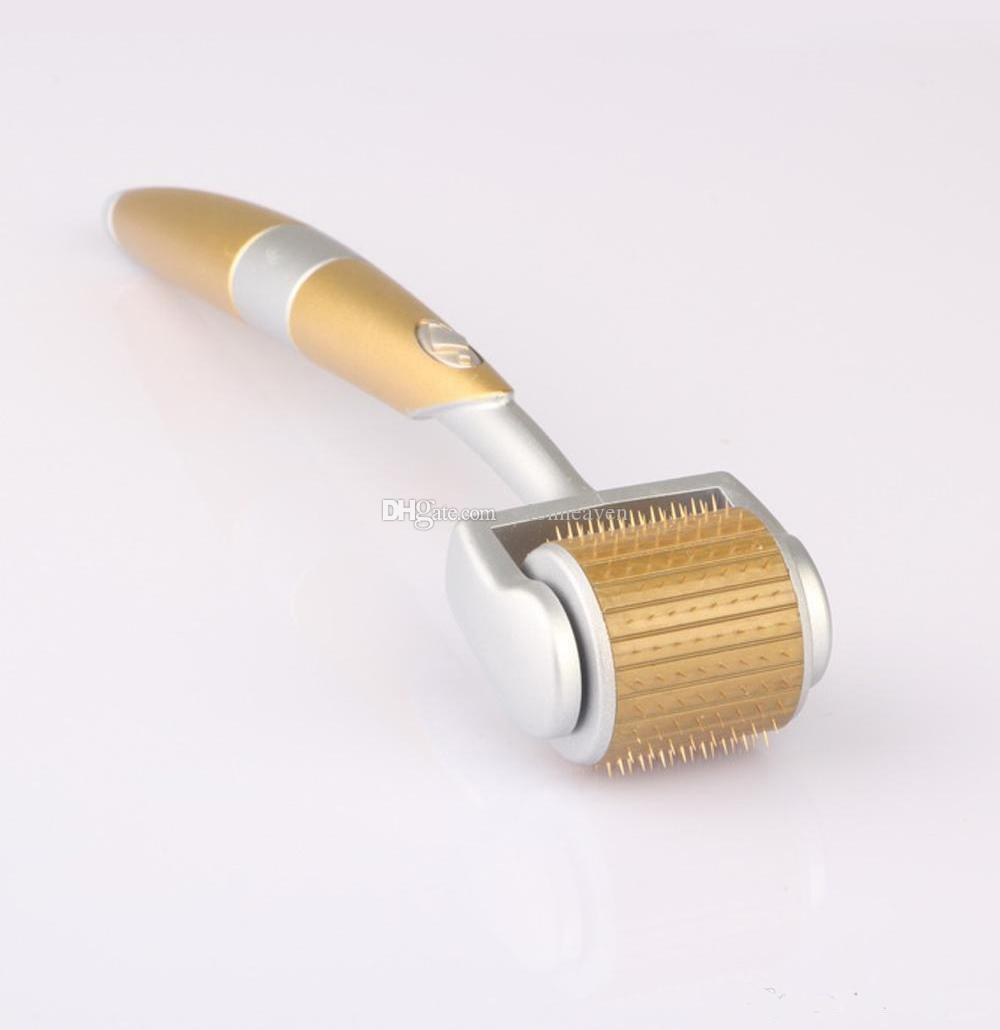 ZGTS 192 Dermaroller titanio microagujas ZGTS rodillos 192 Agujas Derma Roller ventas al por mayor Dermaroller